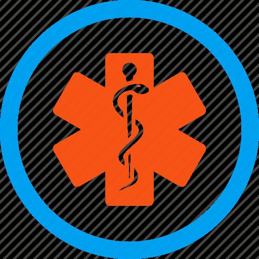 emergency, healthcare, hospital, life star, medical embleme, medicine, pharmacy icon