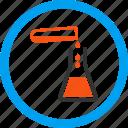 chemistry, flask, fluid, laboratory, liquid transfusion, test tube, water