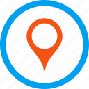 flag, globe, gps, map marker, pin, pointer, travel