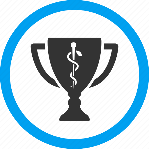 award, medical cup, pharmacy, reward, success, trophy, winner icon