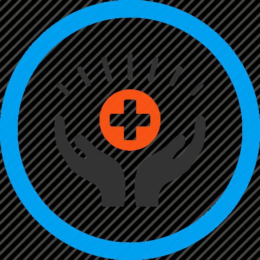 aid, care hands, healthcare, help, maintenance, medical, medicine icon