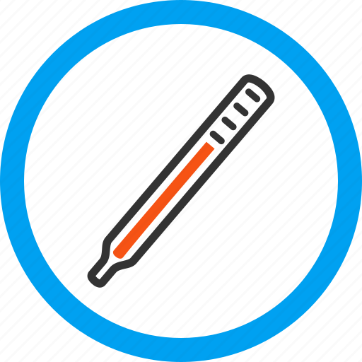 indicator, level, measure, measurement, medical thermometer, temperature control, value icon