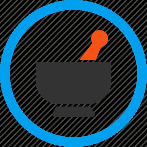 cooking, crush bowl, grinder, ingredient, mixing, mortar, preparation icon