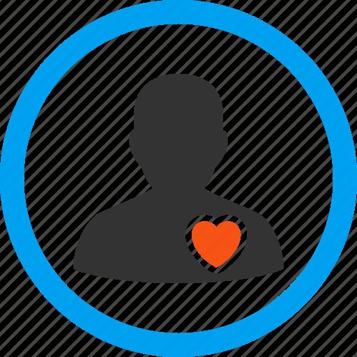 heart, love, lover, patient, romance, romantic, valentine icon