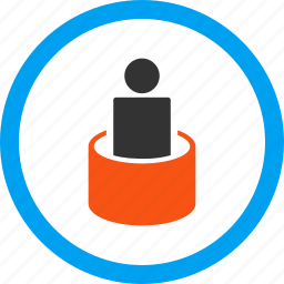 barrel, disinfection, jail, patient isolation, prison, quarantine, therapy icon