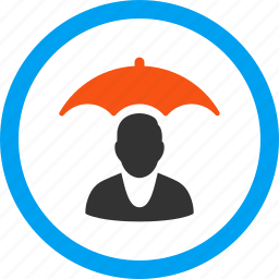insurance, patient, protection, safety, shield, umbrella, weather icon