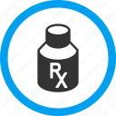 bottle, drug, medical, pharmacy, receipt, tube, vial icon