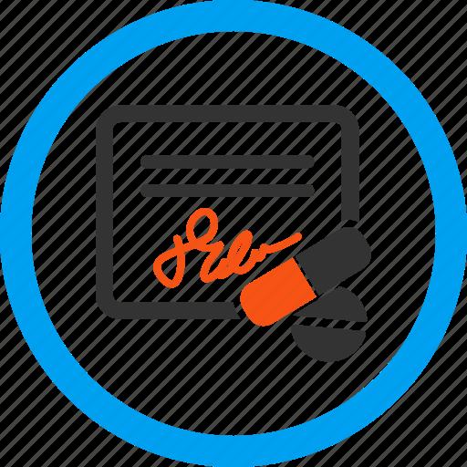 bill, cheque, invoice, prescription, purchase, receipt, report icon