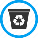 clear, delete, dustbin, recycle bin, remove, rubbish basket, trash can icon