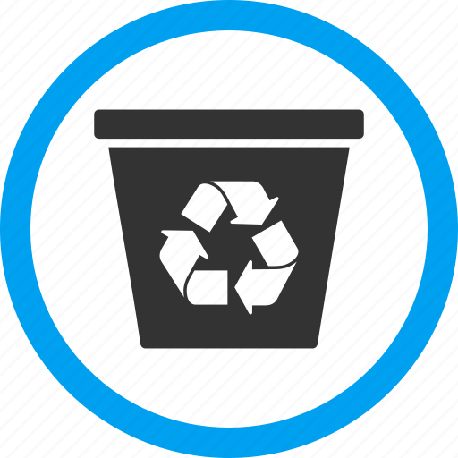 clear, delete, dustbin, recycle bin, remove, rubbish basket, trash can icon