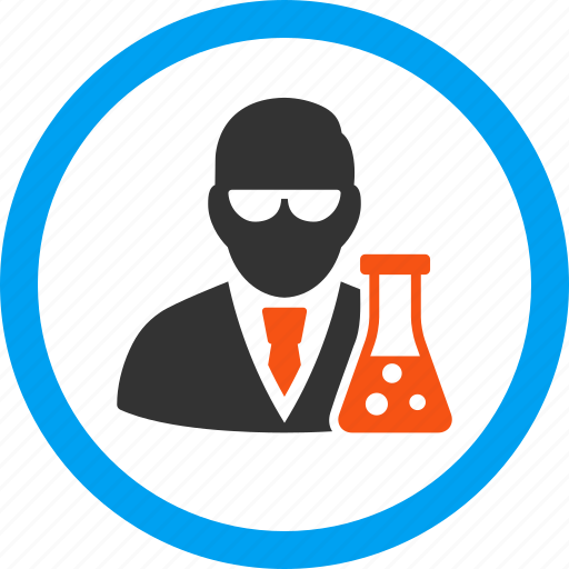 chemistry, education, flask, laboratory, research, science, scientist icon