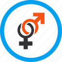 female, love, male, mars, sex, sexual symbols, venus icon