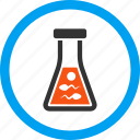 biology, flask, genetic science, genetics, laboratory, research, sperm icon