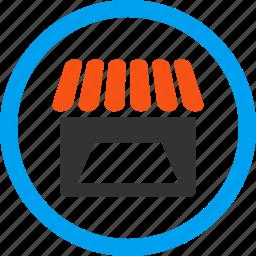 commercial, market, retail, shop, store, webshop, webstore icon
