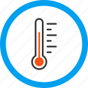equipment, level, measurement, meteorology, temperature, thermometer, weather icon