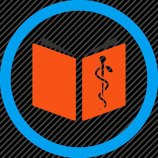 book, catalog, literature, magazine, medical handbook, study, textbook icon