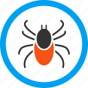 bug, insect, mite, parasitic, pest, tick, trojan icon