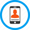 call, chat, communication, message, mobile contact, phone, telephone icon