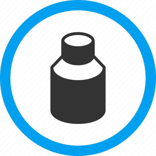 bottle, container, medication, phial, treatment, tube, vial icon