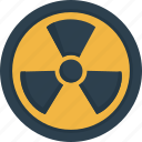 danger, dangerous, nuclear, radioactive icon