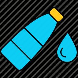 bottle, drop, water icon