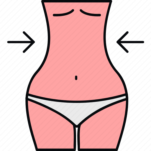 body, loss, shape, weight icon