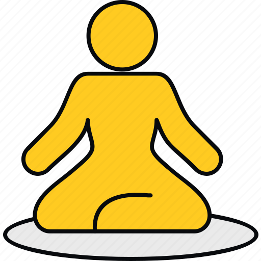 fitness, meditation, relaxation, spa, yoga icon