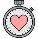 schedule, stopwatch, timepiece, timer icon