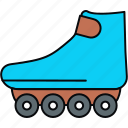 foot, footwheelz, wheel, wheels icon