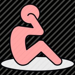exercise, fitness, gym, yoga icon