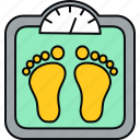 calculator, machine, weight, weightmachine icon