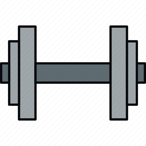 dumbbell, exercise, fitness, gym, weight, weightlifting icon