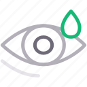 dose, drop, eye, medical, treatment icon