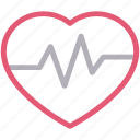 beat, health, heart, life, pulses icon