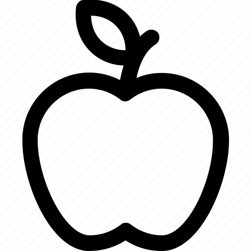 apple, fitness, health, healthy, lifestyle icon icon