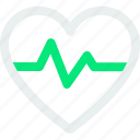 healthcare, heartbeat, medical, pulse icon icon