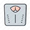 machine, meter, scale, weight icon