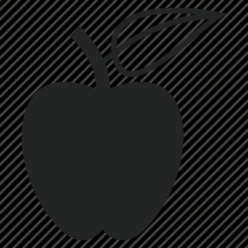 apple, health, healthy icon