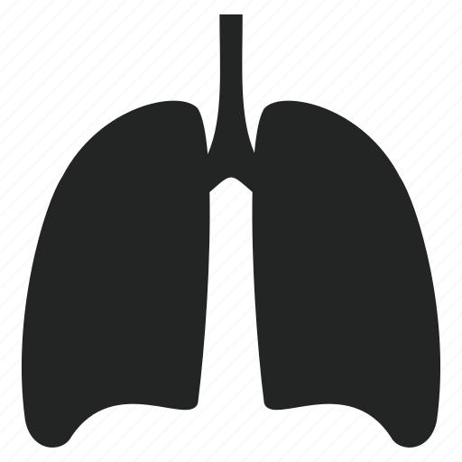 health, healthy, lungs icon