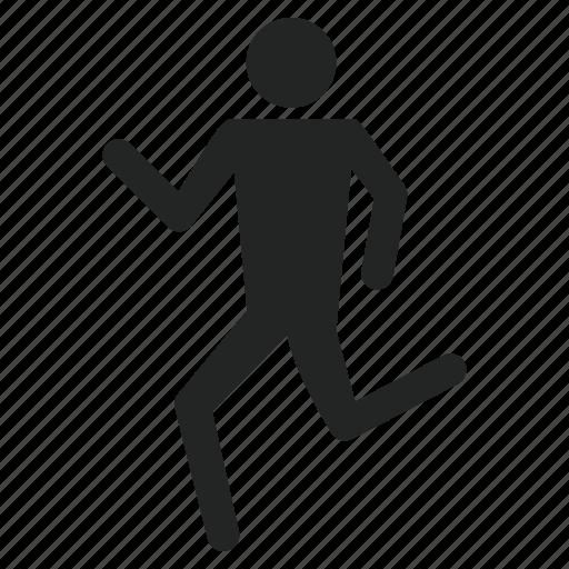 health, healthy, running icon