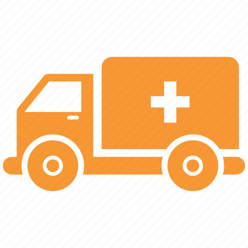 ambulance, transportation, van icon