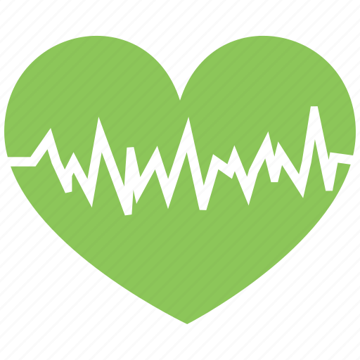 health, heart, heartbeat, pulse icon