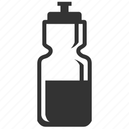 bottle, drink, health, natural, salubrious, water icon