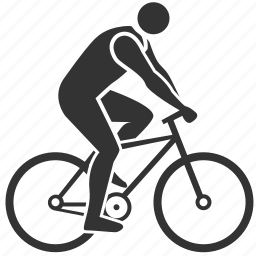 activities, bicycle, cyclist, health, hobby, salubrious, treatment icon