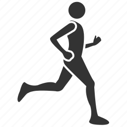activities, health, hobby, jog, runner, salubrious icon