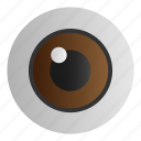 eye, healthcare, medical, view, vision icon