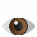 eye, medical, optic, view, vision icon