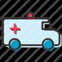 aid, ambulance, car, first icon