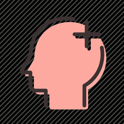 head, man, psychology icon