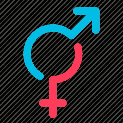 female, gender, male icon
